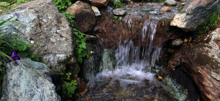 Waterfall Design El Dorado County